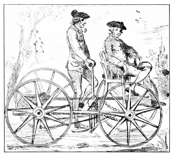 18th Century Style「Pedal Car, 1770」:写真・画像(4)[壁紙.com]