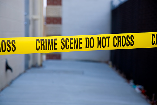 Alley「Dark Alley Crime Scene」:スマホ壁紙(12)