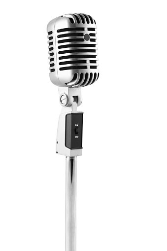 Classical Style「Microphone」:スマホ壁紙(6)