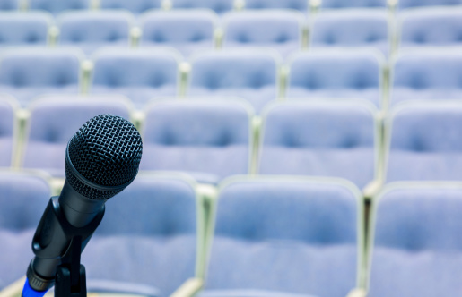 Politics「microphone in front of auditorium」:スマホ壁紙(8)
