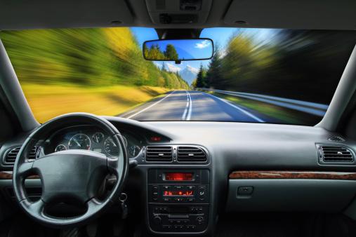 Motorized Vehicle Riding「Driving - speed concept」:スマホ壁紙(2)