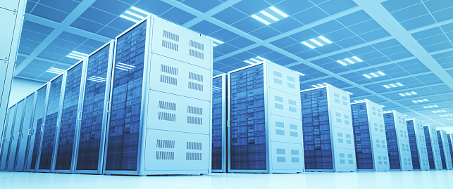 Big Data「Server Room」:スマホ壁紙(2)
