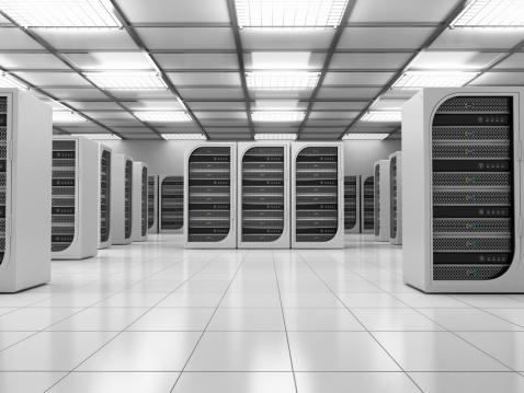 Data Center「Server room」:スマホ壁紙(2)