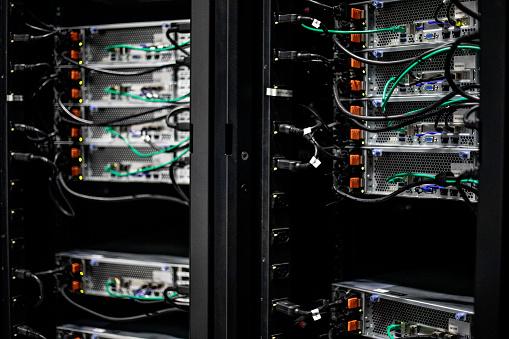 Data Center「Server Room Network」:スマホ壁紙(12)