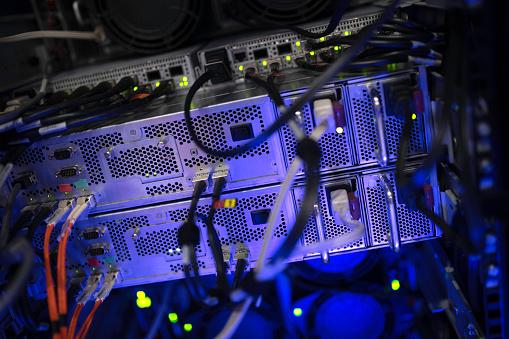 Data Center「Server room」:スマホ壁紙(10)