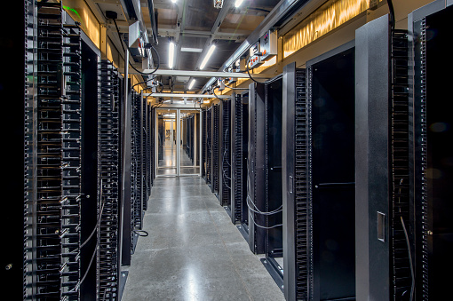 Data Center「Server Room」:スマホ壁紙(12)