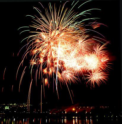 花火「Sumidagawa Fireworks Festival, Tokyo, Japan」:スマホ壁紙(8)