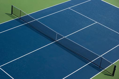 Toughness「Empty tennis Hard court」:スマホ壁紙(1)