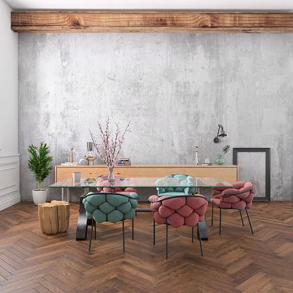Denmark「Nordic style office with large team desk」:スマホ壁紙(0)