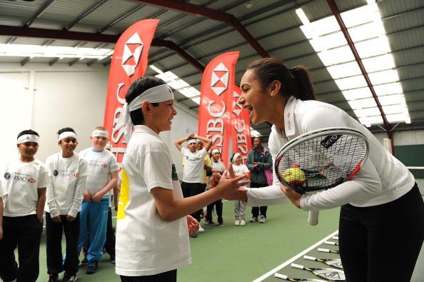 Tom Dulat「HSBC - London Community Tennis Clinic with Heather Watson」:写真・画像(9)[壁紙.com]