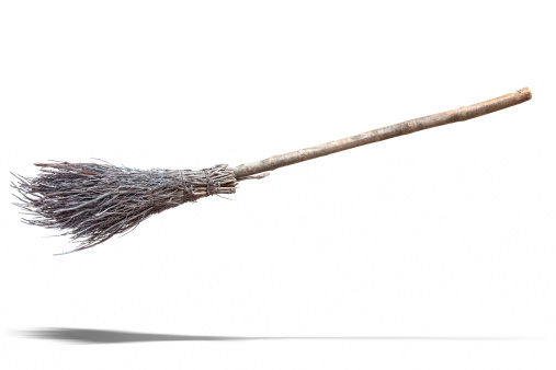 Halloween costume「Flying Broom」:スマホ壁紙(8)