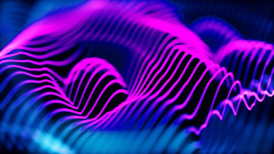 Data Center「Abstract blue technology image background」:スマホ壁紙(17)