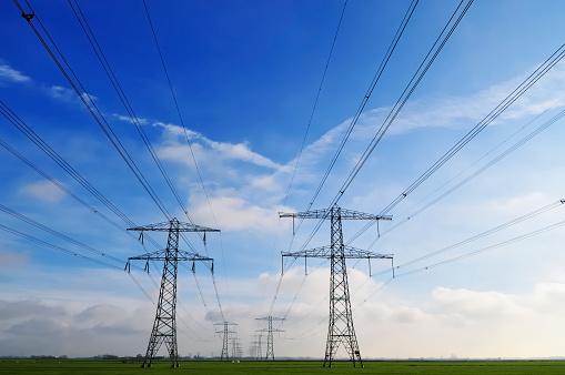 Cable「power lines」:スマホ壁紙(11)