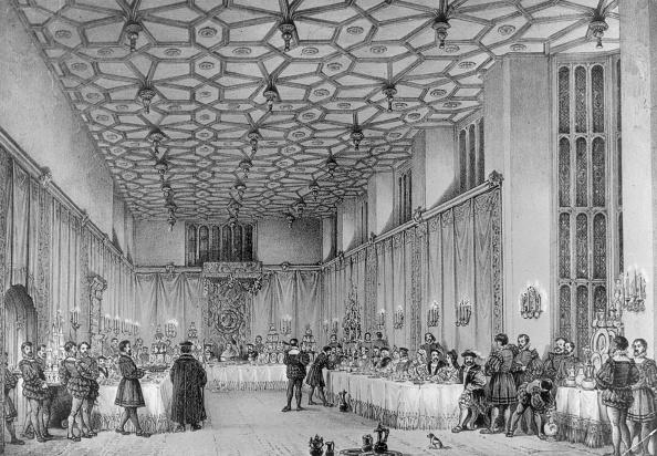 Circa 15th Century「Banquet Hall」:写真・画像(2)[壁紙.com]