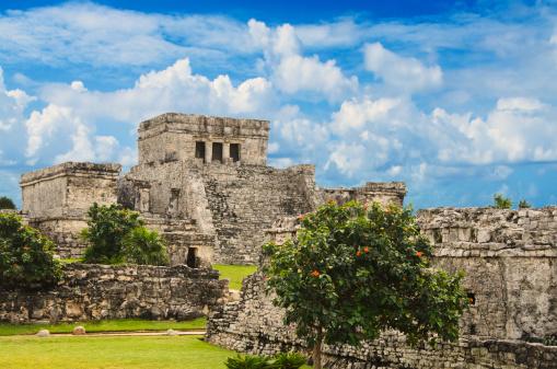 Mexico「Mexico, Tulum, ancient ruins」:スマホ壁紙(7)