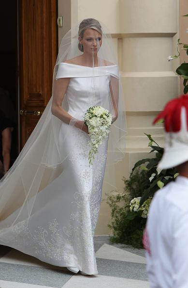 Wedding Dress「Monaco Royal Wedding - The Religious Wedding Ceremony」:写真・画像(11)[壁紙.com]