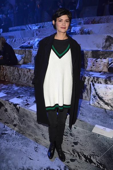 オドレイ・トトゥ「H&M : Front Row - Paris Fashion Week Womenswear Fall/Winter 2015/2016」:写真・画像(17)[壁紙.com]