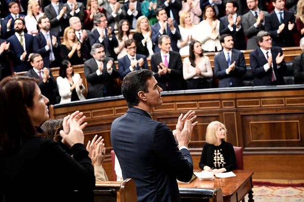 Government Building「Spanish Royals Attend the 14th Legislative Sessions Opening」:写真・画像(8)[壁紙.com]