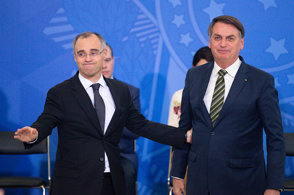 President of Brazil「Andre Mendonca, New Minister of Justice and Jose Levi, New Attorney General are Sworn into Office Amidst the Coronavirus (COVID - 19) Pandemic」:写真・画像(19)[壁紙.com]