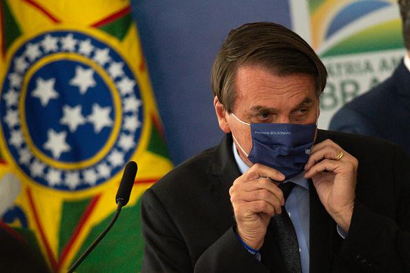 President of Brazil「Bolsonaro Participates in the Launch of Programa das Aguas Amidst the Coronavirus (COVID - 19) Pandemic」:写真・画像(4)[壁紙.com]
