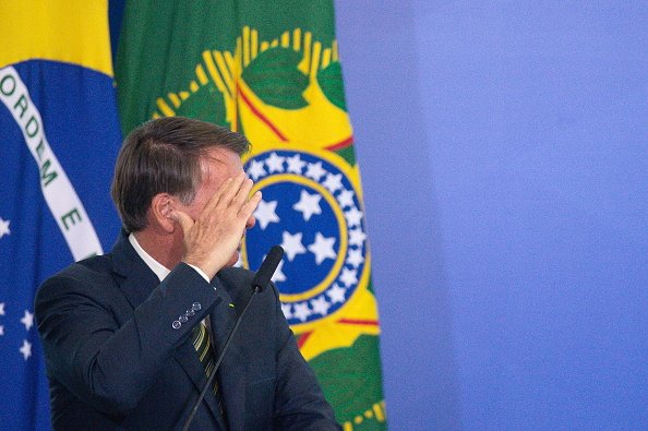 President of Brazil「Andre Mendonca, New Minister of Justice and Jose Levi, New Attorney General are Sworn into Office Amidst the Coronavirus (COVID - 19) Pandemic」:写真・画像(18)[壁紙.com]