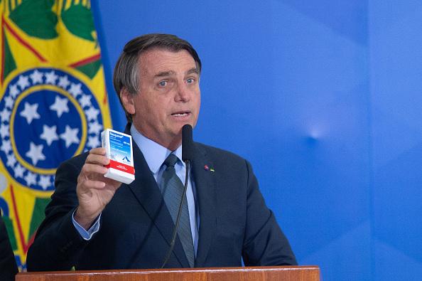 President of Brazil「Bolsonaro Participates in the Swearing-In Ceremony of the New Health Minister Amidst the Coronavirus (COVID - 19) Pandemic」:写真・画像(0)[壁紙.com]