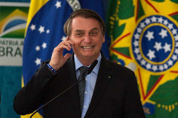 President of Brazil「Bolsonaro Participates in the Launch of Programa das Aguas Amidst the Coronavirus (COVID - 19) Pandemic」:写真・画像(11)[壁紙.com]