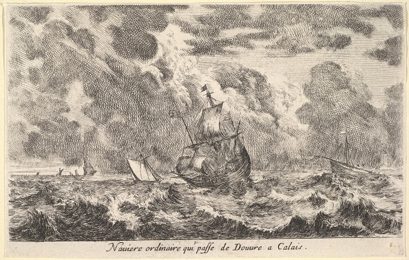 Calais「An Ordinary Ship Travelling Between Douvre And Calais (Naviere Ordinaire Qui Passe De Douv」:写真・画像(4)[壁紙.com]