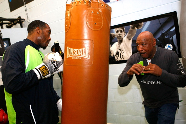 Tom Dulat「Marvin Hagler Visits The Laureus-supported Project Fight for Peace in London」:写真・画像(10)[壁紙.com]
