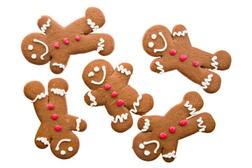 Gingerbread Cookie「Several Ginger Bread Men」:スマホ壁紙(18)