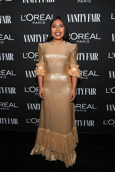 Gold Colored「Vanity Fair And L'Oréal Paris Celebrate New Hollywood」:写真・画像(9)[壁紙.com]