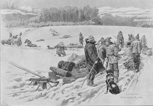 Snowdrift「Stikine River Crossing」:写真・画像(1)[壁紙.com]