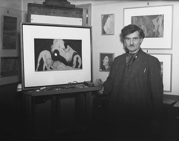 Painting - Activity「Austin Osman Spare」:写真・画像(1)[壁紙.com]