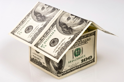 American One Hundred Dollar Bill「Money House」:スマホ壁紙(13)