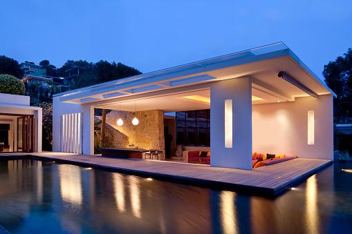 Chalet「Modern Island Villa」:スマホ壁紙(9)