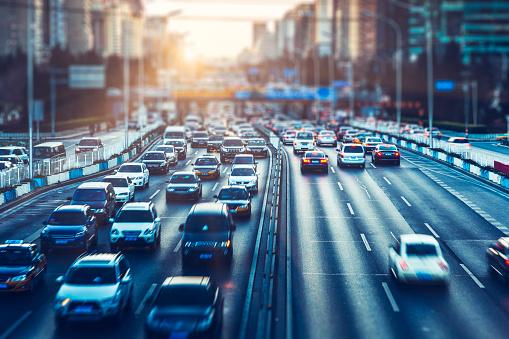 Traffic「rush-hour traffic in downtown beijing」:スマホ壁紙(19)