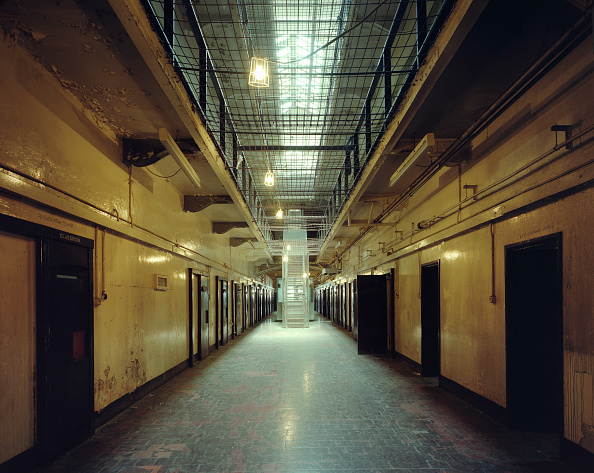Horror「Crumlin Road prison, closed in 1996, now a museum in Belfast, Northern Ireland. Designed by Sir Charles Lanyon, built between 1843 and 1845  one of the most advanced prisons of its day」:写真・画像(1)[壁紙.com]