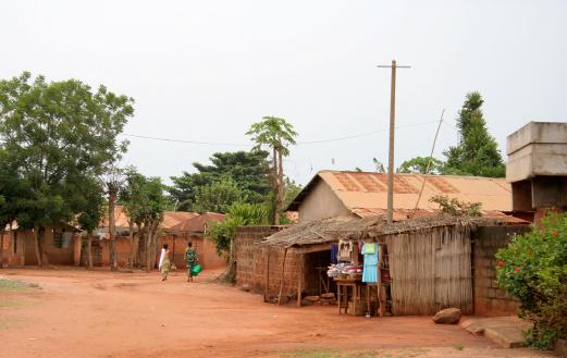 Walking「african street scene」:スマホ壁紙(5)