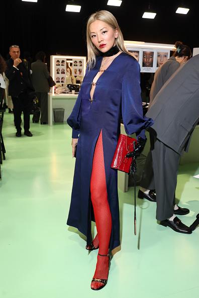 Clutch Bag「Gucci - Arrivals at Backstage - Milan Fashion Week Fall/Winter 2020/21」:写真・画像(3)[壁紙.com]