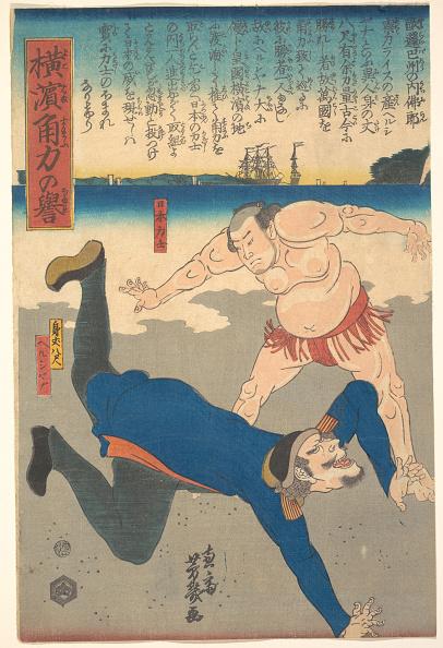 Sportsperson「Sumo Wrestler Tossing A Foreigner」:写真・画像(15)[壁紙.com]