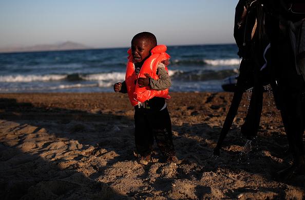 Mediterranean Sea「Migrants Arrive On The Beaches Of Kos In Greece」:写真・画像(2)[壁紙.com]