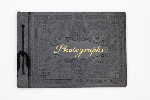 Souvenir「Antique Photography Book Cover, Old Black Leather Photograph Album」:スマホ壁紙(11)