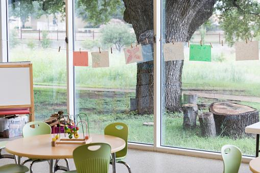 State School「A kindergarten classroom awaits students」:スマホ壁紙(3)