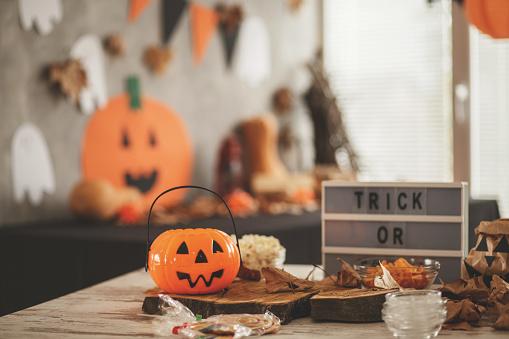 Jack-o'-lantern「Halloween theme」:スマホ壁紙(18)