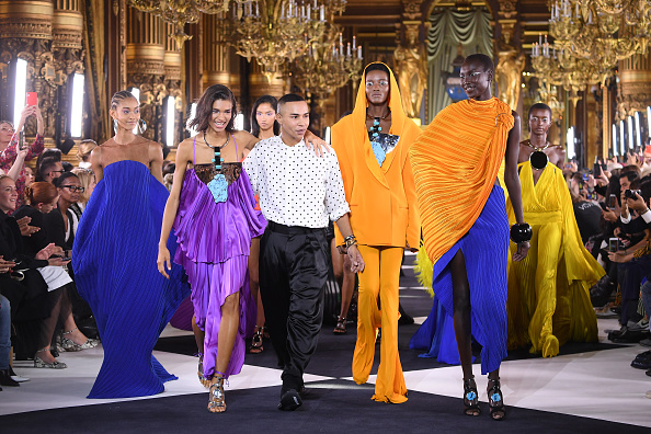 The End「Balmain : Runway - Paris Fashion Week - Womenswear Spring Summer 2020」:写真・画像(17)[壁紙.com]
