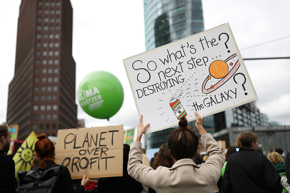Strike - Protest Action「Global Climate Strike: Berlin」:写真・画像(14)[壁紙.com]