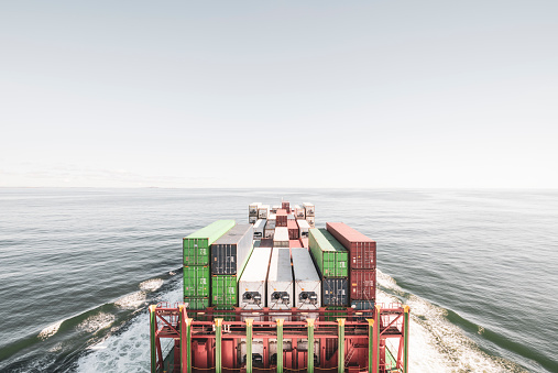 Trading「Container ship in the North Sea」:スマホ壁紙(15)