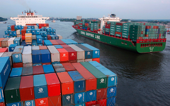 Shipping「4135 / Containerschiffe」:写真・画像(8)[壁紙.com]