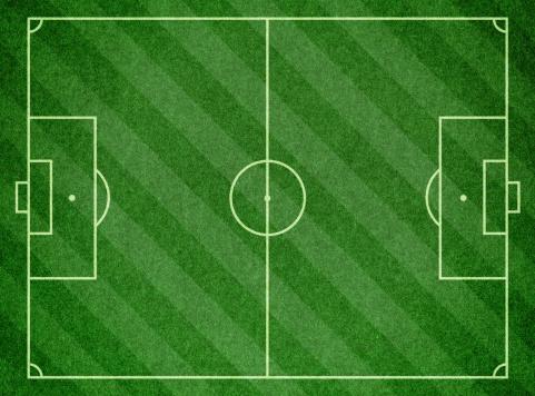 Corner Marking「Soccer Football Pitch」:スマホ壁紙(14)