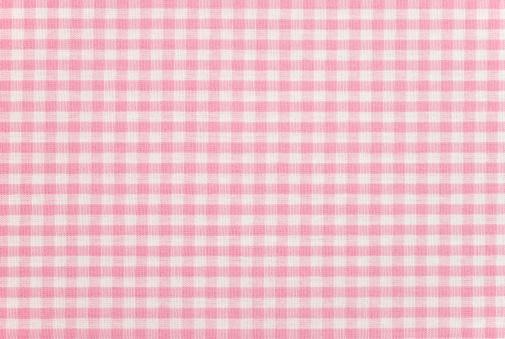 ピンク色「ギンガム模様のファブリック」:スマホ壁紙(5)